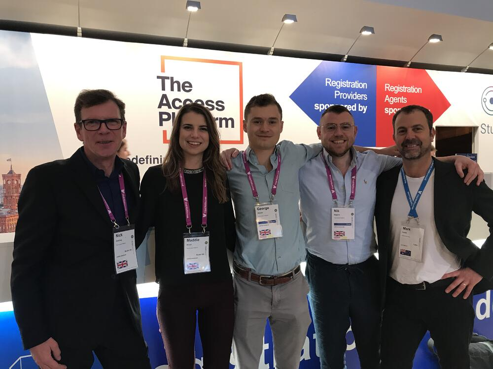 The Access Platform staff at ICEF Berlin 2019